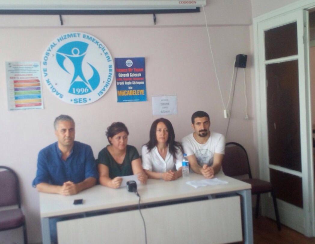 İstanbul Şubelerimiz sağlık kurumlarına ve emekçilerine yönelik saldırılarla ilgili açıklama yaptı!