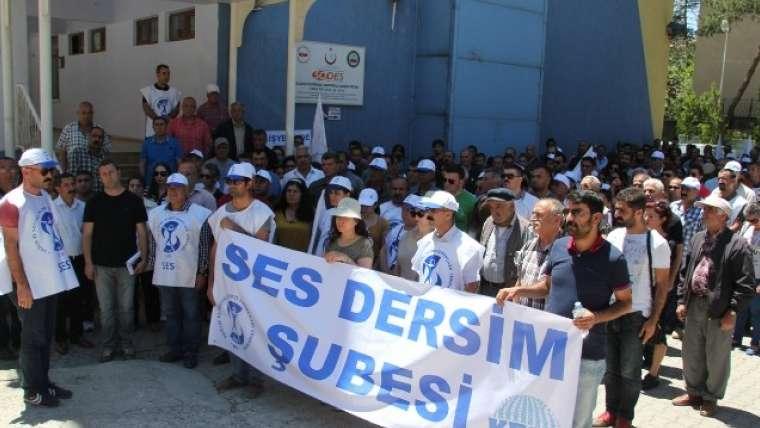 DERSİM SES 'Başhekim baskı ve hakaret uyguluyor'