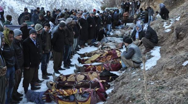 Roboski Katliamını Unutmadık, Unutturmayacağız! Katliamların Hesabını Barış ve Kardeşliğin Ülkesini Kurarak Soracağız!