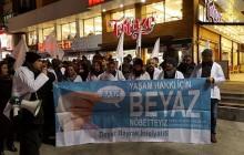 Ankara'da Yaşam Hakkı İçin Beyaz Nöbet Başladı