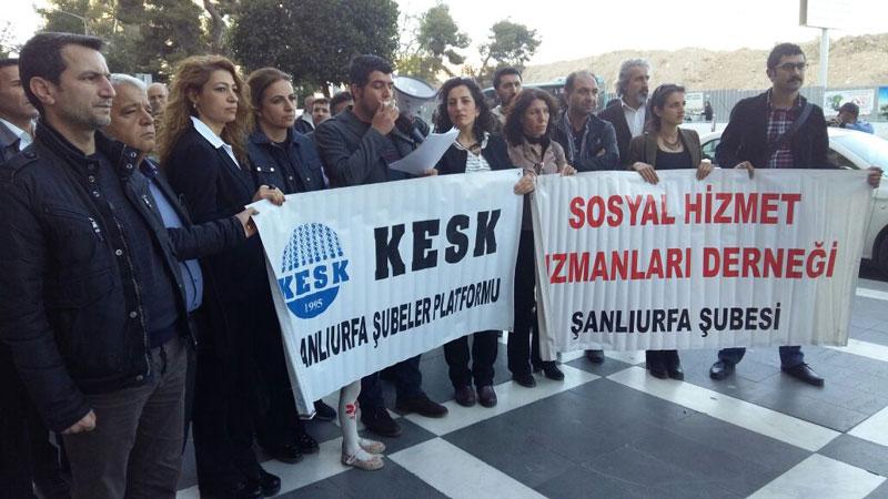 ŞANLIURFA'DA ÇOCUK İSTİSMARLARI PROTESTO EDİLDİ