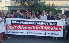 İSTANBUL; ÜLKE YÖNETMEK CİDDİYET İSTER: ÖZÜR DİLEMELİSİN BAŞBAKAN!