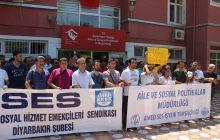 DİYARBAKIR'DA AÇIĞA ALINAN ÜYELERMİZLE İLGİLİ BASIN AÇIKLAMASI YAPILDI