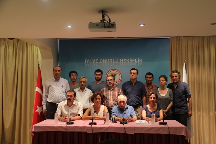 İSTANBUL; Faşizme, Darbelere ve Savaşa Karşı Barış Hemen Şimdi!