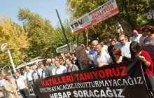 ADIYAMAN; 10 Ekim Ankara katliamının üzerinden tam 1 yıl geçti. İçerisinde Bin yıllık acı biriktiren bir koca yıl ….