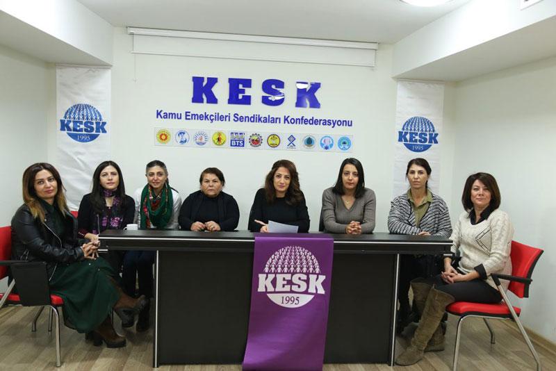KESK'li Kadınlar 25Kasım'da Alanlara Çağırıyor!!!