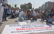 BATMAN; Halkın İradesine ve Demokratik Siyasete Yapılan Darbe Kabul Edilemez!