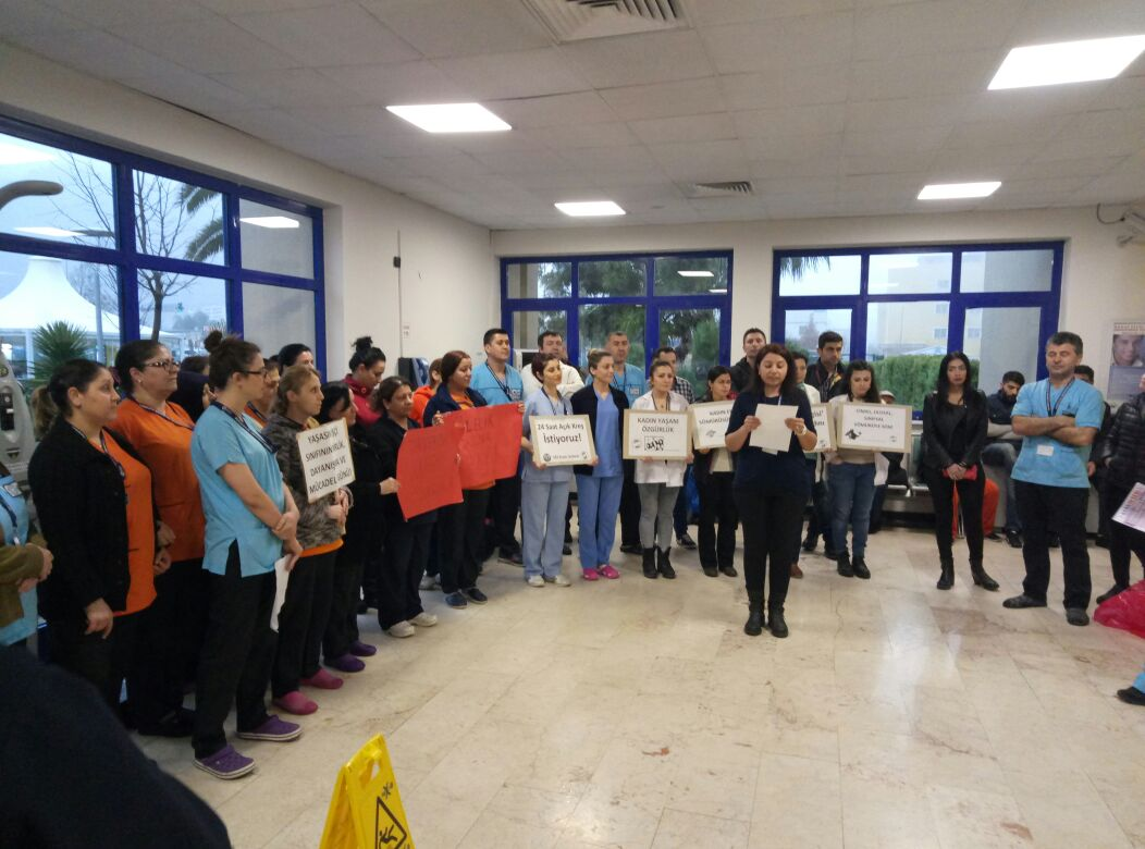 İzmir 8 Mart Etkinlik Fotoğrafları