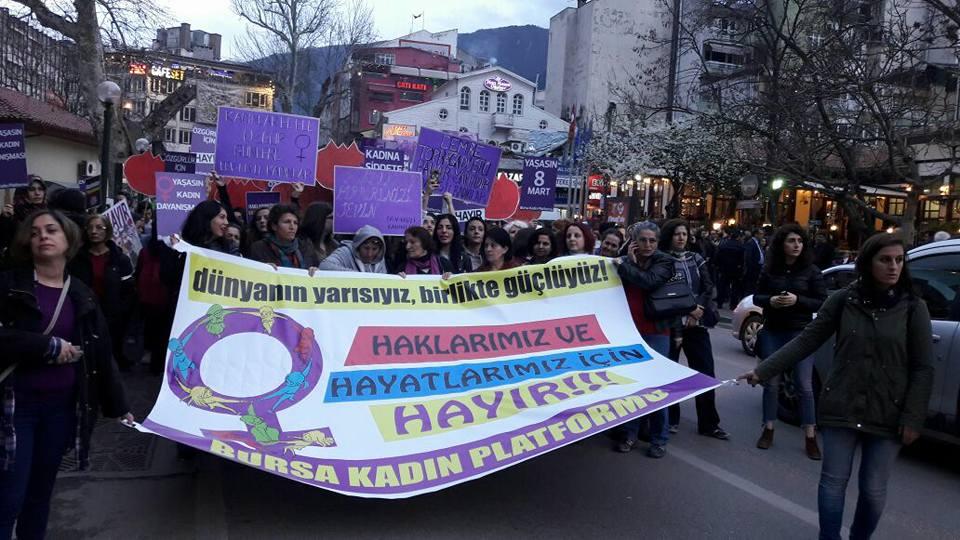 Bursa'da 8 Mart Etkinlikleri