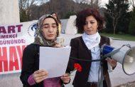 Ereğli'de, 8 Mart'ta Ortak Açıklama: 'Karanlığa Hayır'