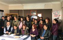 Diyarbakır'da KESK'e Bağlı Sendikaların Eski Şube Yöneticilerinin Gözaltına Alınması İle İlgili Basın Toplantısı Yapıldı