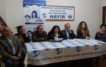 SES Antalya Şubesi 8 Mart Açıklaması