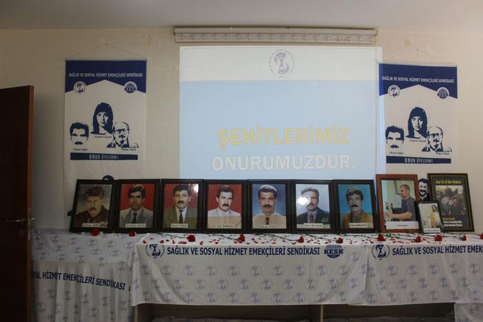 DİYARBAKIR'DA ŞEHİTLER ANILDI