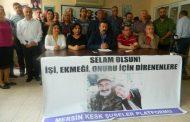 MERSİN; Semih Özakça ve Nuriye Gülmen Derhal Serbest Bırakılmalıdır!
