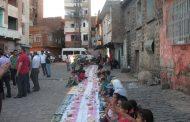 DİYARBAKIR: ''Ekmeğimizi ve Suyumuzu sur halkıyla paylaşıyoruz.''