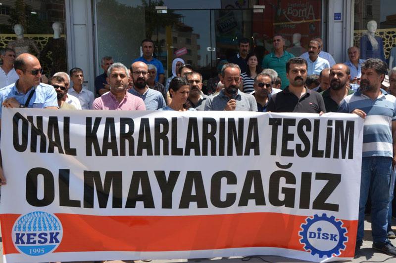 BATMAN'DA HUKUK DIŞI İHRAÇLAR PROTESTO EDİLDİ
