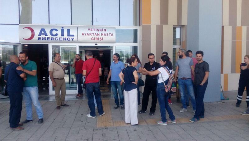 VAN'DA İHRAÇLARLA İLGİLİ BASIN AÇIKLAMASINA İZİN VERİLMEDİ