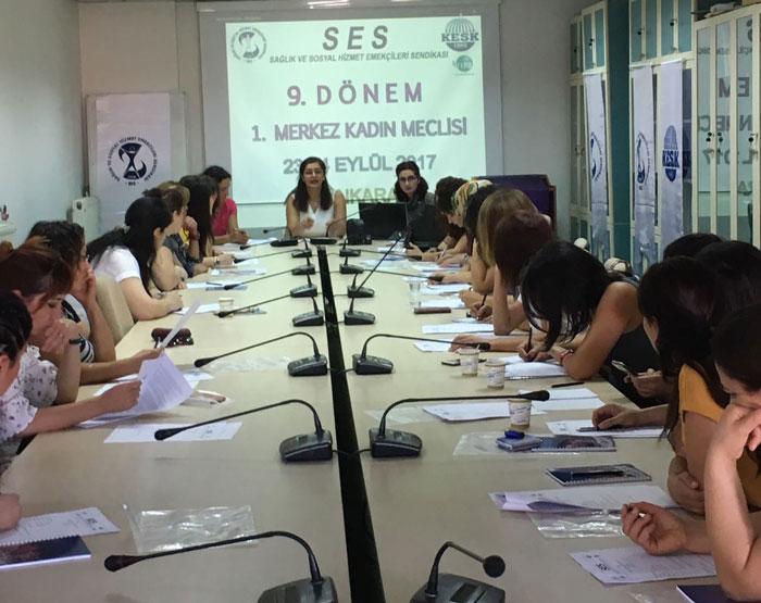 9. Dönem 1. Merkez Kadın Meclisi Toplantımızı Gerçekleştirdik.