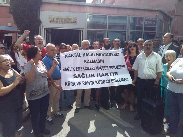 İSTANBUL KARTAL YAVUZ SELİM DEVLET HASTANESİ ARAZİSİ TALANA AÇILIYOR