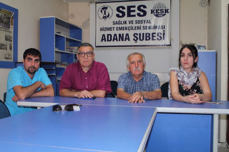 ADANA ŞEHİR HASTANESİNDE HEMŞİREYE SALDIRI