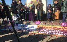 DİYARBAKIR'DA 25 KASIM EYLEMİ