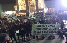 İSTANBUL'DA 25 KASIM EYLEMİ