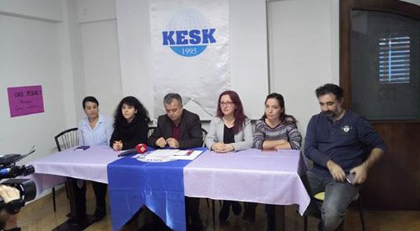 """KESK İL GEZİLERİ KAPSAMINDA SAMSUN'DA; """"OHAL DEĞİL DEMOKRASİ İSTİYORUZ"""""""