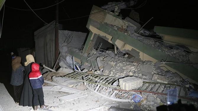 DEPREMDEN ZARAR GÖREN İRAN VE IRAK HALKLARININ ACISINI PAYLAŞIYORUZ