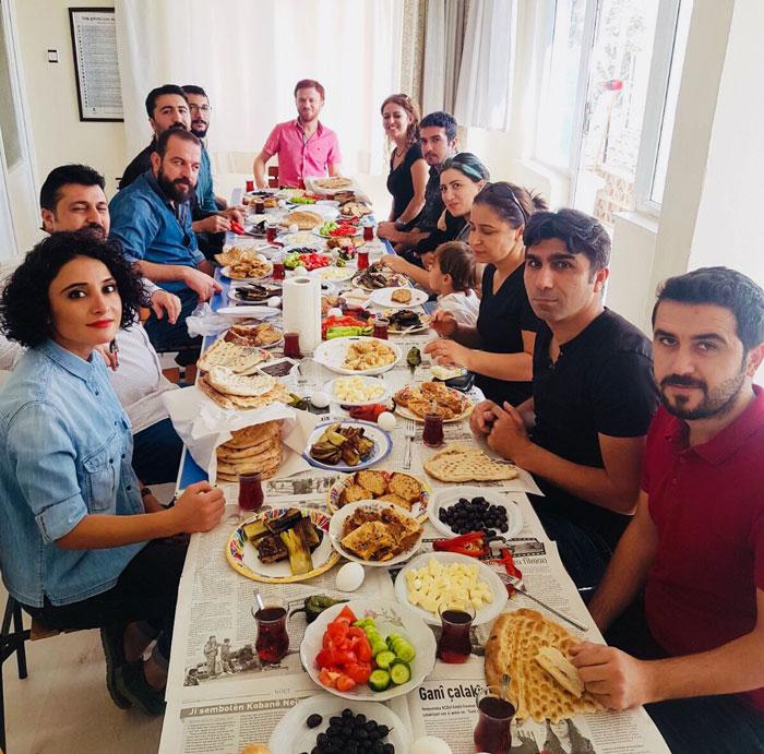 ŞANLIURFA ŞUBEMİZDE KAHVALTILI TOPLANTI