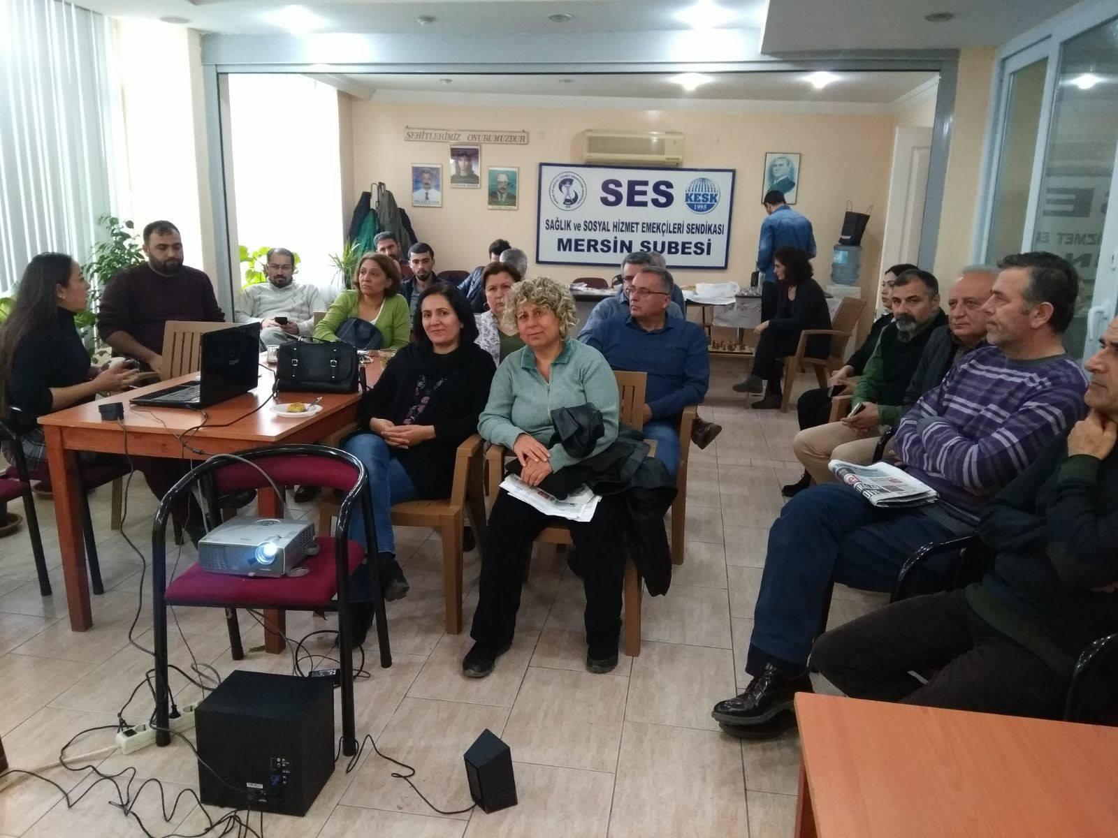 Mersin'de Şehir Hastaneleri Sunumu