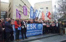 KESK Bursa Şubeler Platformu Basın Açıklaması Yaptı