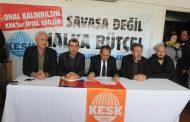 KESK'in Antalya'da Yapmak İstediği Eylem Engellendi!