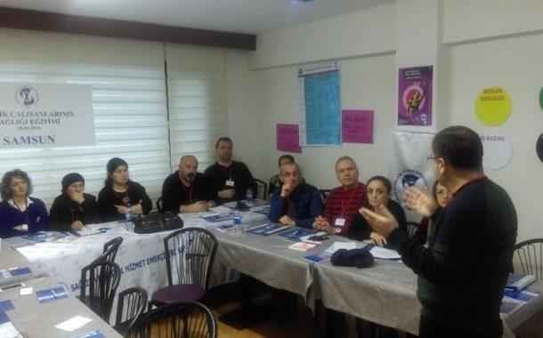 SÇS EĞİTİMİ SAMSUN'DA YAPILDI