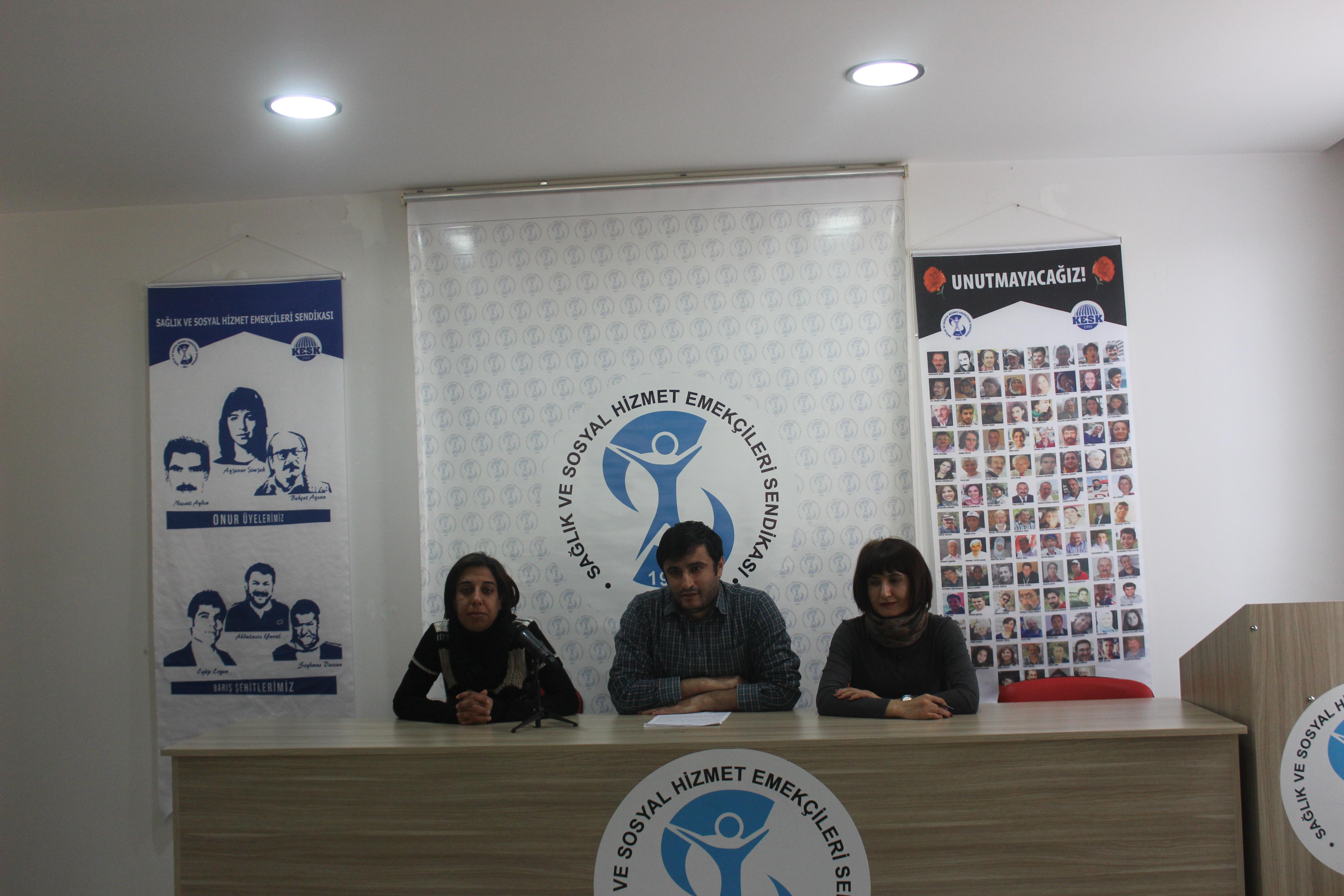 Diyarbakır Şubemiz: Kayapınar Sosyal Hizmet Merkezi Şehir Dışına Taşınmasın!