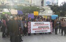 Mersin Kadın Platformu: Kadınlar Mücadele Etmekten Vazgeçmedi, Vazgeçmeyecek!