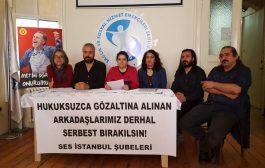 İstanbul Şubelerimiz: Diyarbakır ve Mardin'de Gözaltına alınan SES ve Tabip Odaları Yöneticileri Derhal Serbest Bırakılsın