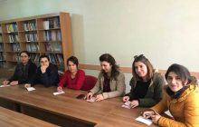 Adıyaman KESK Kadın Meclisi Tutuklu KESK'li Kadınlara Kart Gönderdi