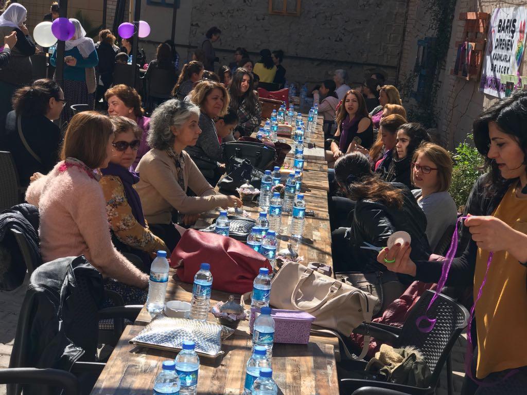 Adıyaman'da KESK'li Kadınlar Kahvaltıda Buluştu