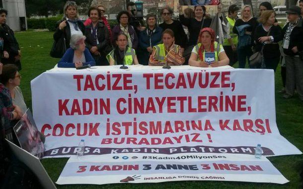 """""""3 Kadın, 3 Anne, 3 İnsan"""" Yürüyüşçüleri Bursa'da Kadınlar Tarafından Karşılandı"""