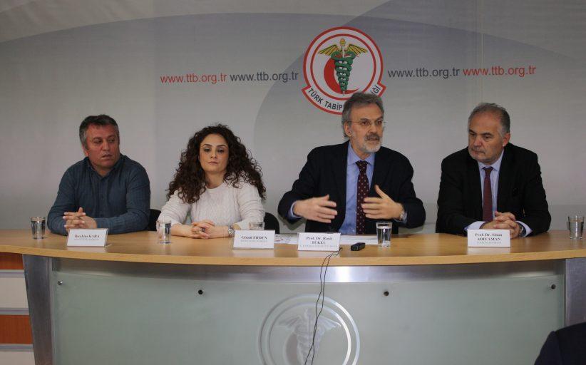 Sağlık Meslek Örgütleri Acil Olarak Karşılanması Gereken Taleplerini Açıkladı