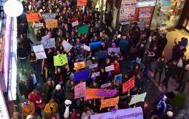 Kadınlar 8 Mart'ta Trabzon'da da Alanlardaydı
