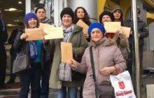 Zonguldak'ta KESK'li Kadınlardan Aile ve Sosyal Politikalar Bakanına Mektup