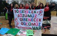 """Kdz. Ereğli 8 Mart'ta """"Kadınlar birlikte güçlü"""" Mesajı Verdi"""