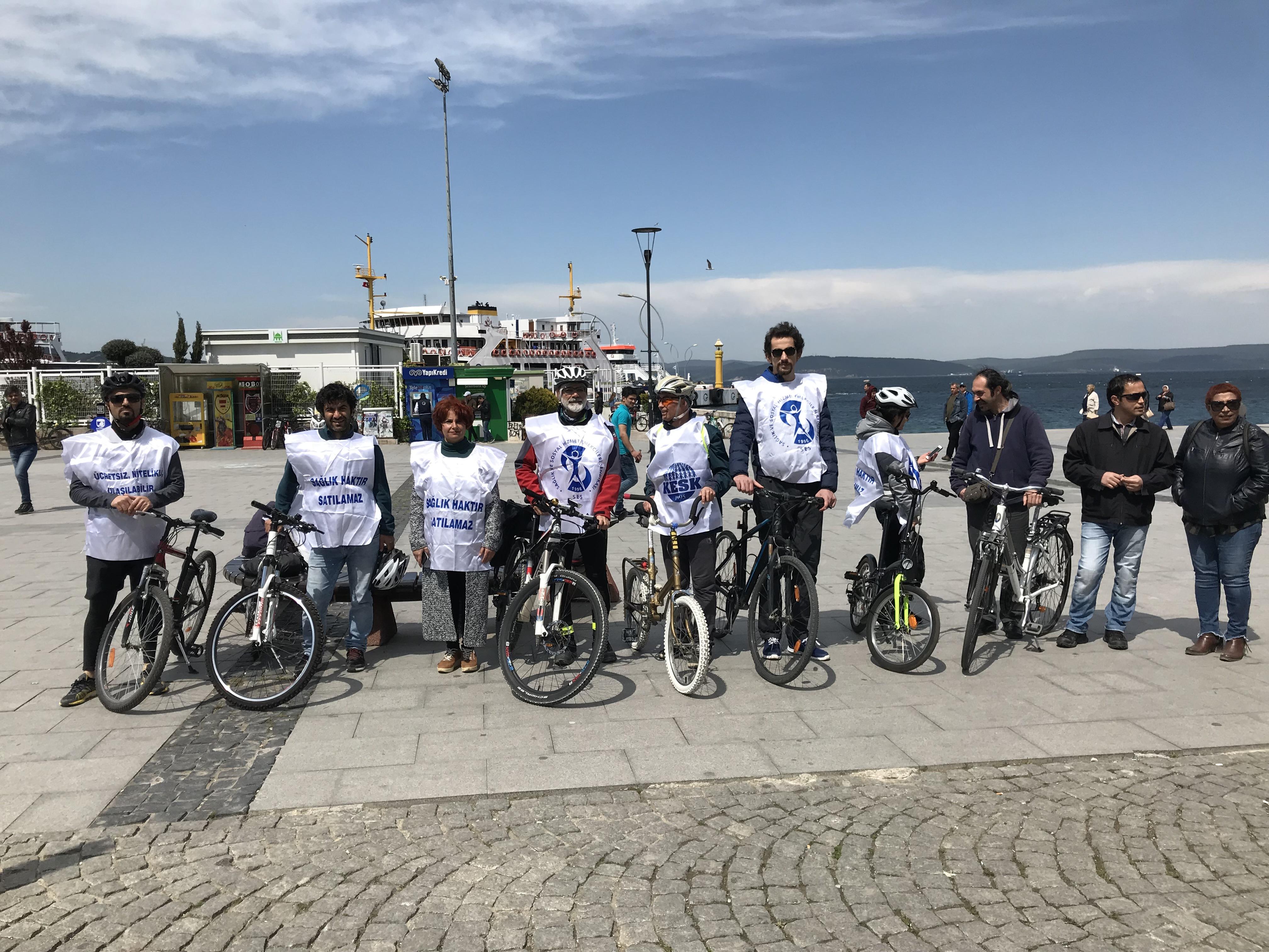 Çanakkale Şubemiz, 'Nitelikli Sağlık Hizmeti İçin Pedal Çeviriyoruz' Etkinliği Başlattı