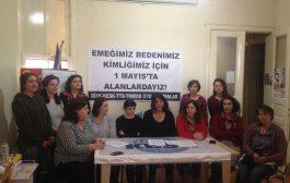 İstanbul'da Kadınlar 1 Mayıs'a Çağrı Yaptı