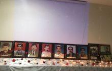 Diyarbakır, Şube ve Barış Şehitlerini Andı