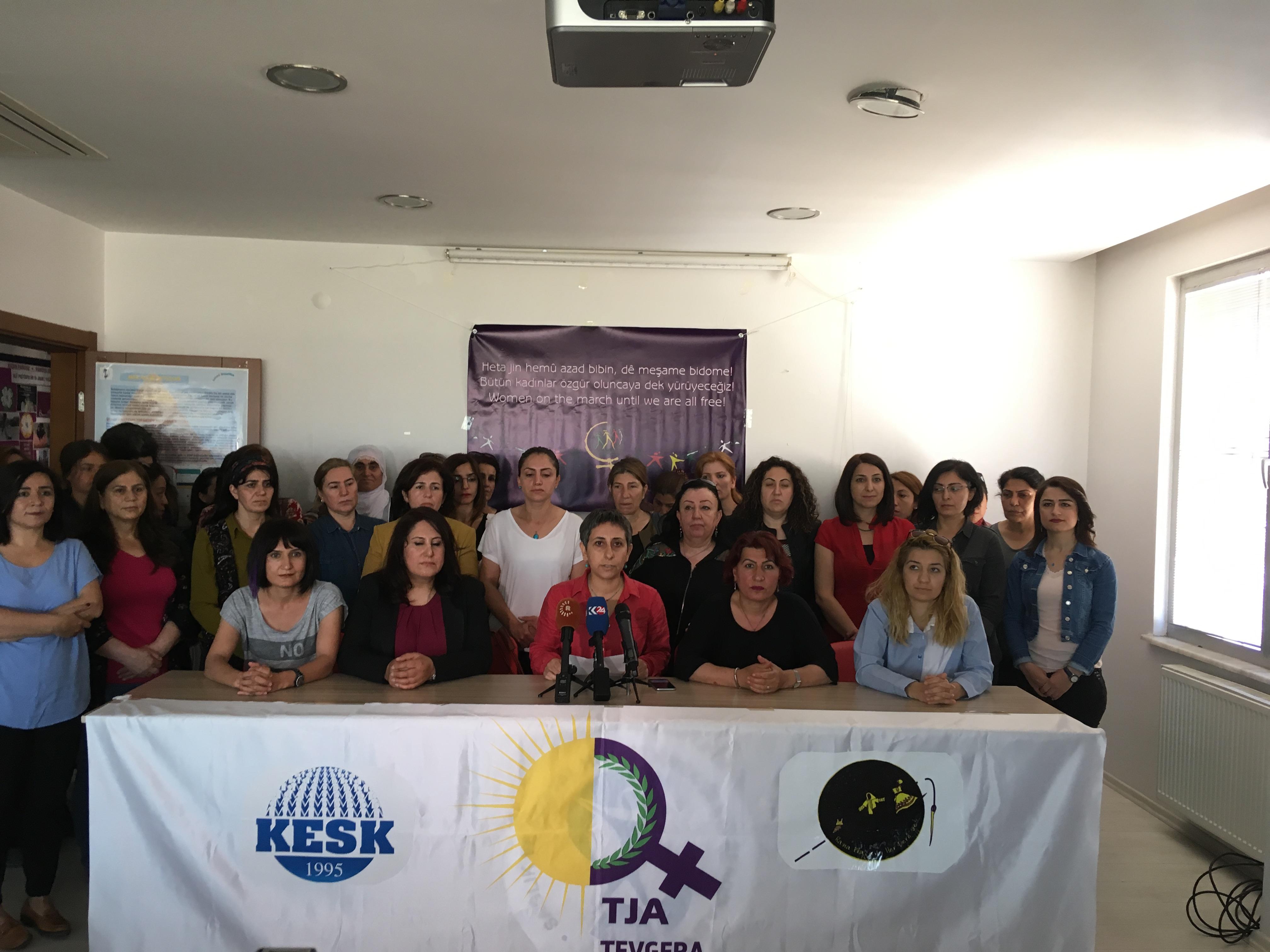 """Diyarbakır'da Kadınlardan """"Rana Plaza Her Yerde"""" Açıklaması"""