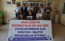 Mersin Şubemiz: Cinsel İstismarı Önlemenin Yolu Çocuk Odaklı Politika