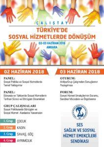 Türkiye'de Sosyal Hizmetlerde Dönüşüm Çalıştayımız Haziran'da Yapılacak