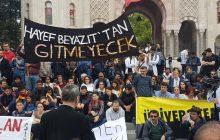 İstanbul Üniversitesi'nde Bölünmeye Karşı Açık Hava Dersi